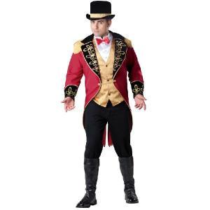大きいサイズ ハロウィン コスプレ 大人 サーカス 団長 コスチューム 仮装 衣装|acomes