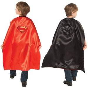 スーパーマン コスチューム グッズ コスプレ 小道具 子供 マント ケープ リバーシブル|acomes