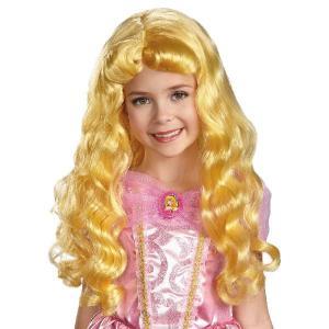 ディズニー 仮装 子供 コスチューム 人気 オーロラ姫 グッズ ウィッグ プリンセス かつら 眠れる森の美女|acomes