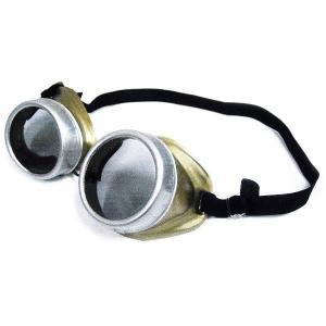スチームパンク 雑貨 ファッション 眼鏡 ゴーグル(ブラウン)|acomes