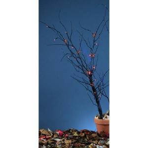 装飾 飾り デコレーション ホラー・恐怖系 グッズ オレンジに光る不気味な枝|acomes