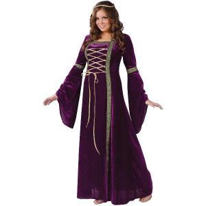 ルネサンス レディー 大人用 プラスサイズ 大きいサイズ コスチューム ハロウィン衣装|acomes