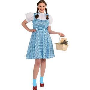 オズの魔法使い ディズニー ドロシー 大人用 プラスサイズ 大きいサイズ コスチューム ハロウィン衣装|acomes
