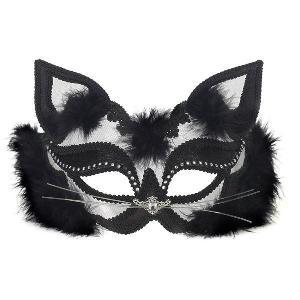ベネチアン マスク 仮面舞踏会 パーティー ブラック&ホワイト ベネチアンマスク|acomes