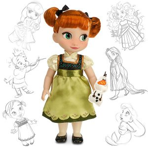 アナと雪の女王 グッズ 人形 フィギュア Animators Collection Frozen アニメーター コレクション ディズニー プリンセス|acomes