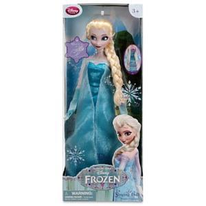 アナと雪の女王 グッズ フィギュア 歌うエルサ人形 Frozen ディズニー プリンセス acomes