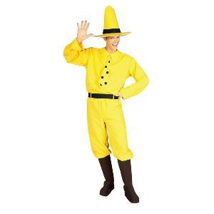 テレビアニメ「おさるのジョージ」より、ジョージの親,親友といえる存在の黄色いおじさんのコスプレ・コス...