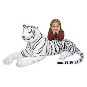 ホワイトタイガー ぬいぐるみ 動物 人形 大きい 虎 トラ Melissa & Doug メリッサ&ダグ|acomes