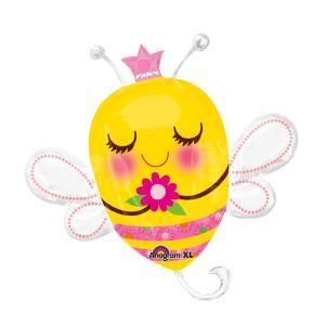在庫処分市 母の日 風船 バルーン みつばち 女王蜂 ギフト プレゼント パーティ グッズ デコレーション 飾り あすつく|acomes