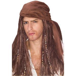 パイレーツ 海賊のビーズつきウィッグ ハロウィン衣装|acomes