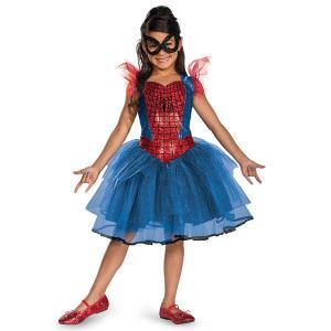 スパイダーマン ハロウィン 衣装 アメイジング・スパイダーマン スパイダーガール チュチュ 女の子用コスチューム ユニバ コスプレ usj|acomes
