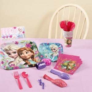 アナと雪の女王 グッズ パーティー セット 誕生日 (8人用) Frozen ディズニー プリンセス|acomes
