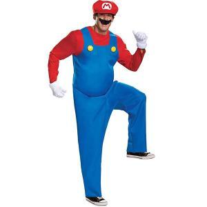 スーパーマリオ コスチューム 大人 コスプレ 衣装 ハロウィン 仮装  キャラクター 大きいサイズ テレビゲーム|acomes