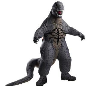 ゴジラ グッズ コスチューム 衣装 着ぐるみ 膨らむ コスプレ デラックス 大人用 Godzilla acomes