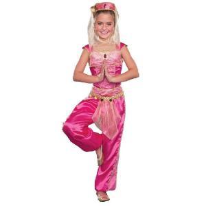 ディズニー 仮装 子供 コスチューム 人気 映画 アラジン ジーニー 女の子用 コスチューム ハロウィン コスプレ コスチューム・衣装|acomes