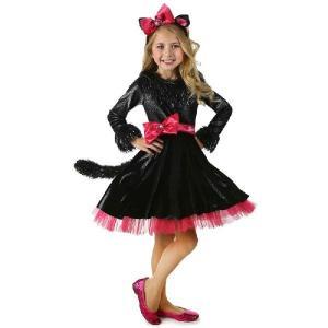 バービー 猫 ネコ コスプレ 子供用 女の子用 コスチューム ハロウィン コスチューム・衣装|acomes