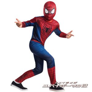 【アメージング スパイダーマン 2 コスプレ マーベル 衣装】 アメージング スパイダーマン2 子供...