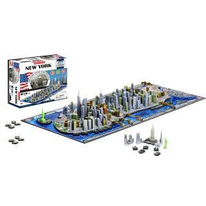 サイエンストイ 科学おもちゃ 立体パズル 4Dパズル ニューヨーク スカイライン|acomes