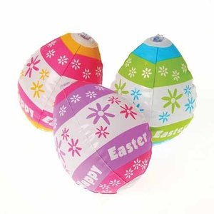 イースターエッグ イースターバニー エッグハンティング 卵 デコレーション パーティ 膨らむイースターエッグ12個セット|acomes