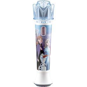 アナと雪の女王2 ディズニー Frozen グッズ 歌 子供用マイク カラオケ フラッシュライトで光る|acomes