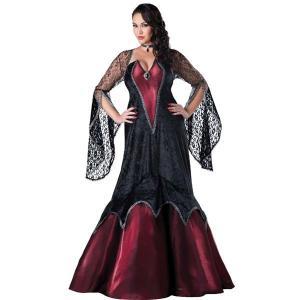 美の女王 大人用 女性用 ロングドレス コスチューム 大きいサイズ プラスサイズ ハロウィン コスプレ コスチューム・衣装|acomes