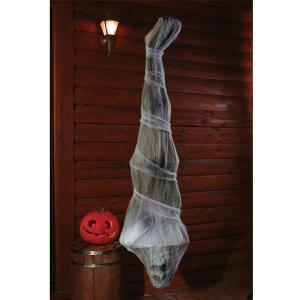 装飾 飾り デコレーション ミイラ 死体の繭 逆さ吊り コクーン 183cm 恐怖 グッズ|acomes