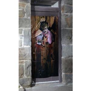 装飾 飾り デコレーション ゾンビ ドア カバー 恐怖 グッズ|acomes