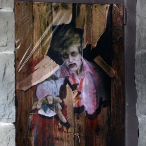 装飾 飾り デコレーション ゾンビ ドア カバー 恐怖 グッズ|acomes|02