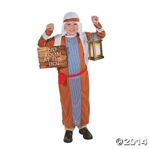 コスプレ 子供 衣装 男の子 人気 宿屋の主人 コスチューム 小道具セット 劇 イエス キリスト 降...