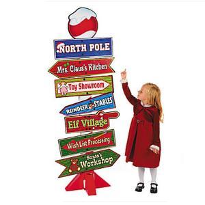 クリスマス 標識 サイン スタンドパネル デコレーション 飾り ホリデー|acomes