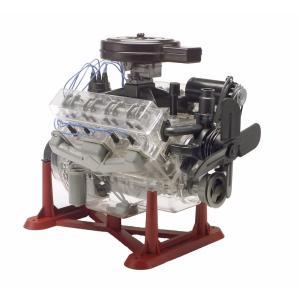 プラモデル V8エンジン 組み立て 1/4スケール 動く おもちゃ 子供 科学玩具 知育玩具 サイエンストイ 機械工学 学習|acomes