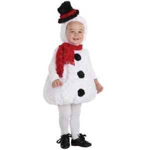 スノーマン 雪だるま 赤ちゃん用 コスチューム クリスマス ギフト プレゼント ハロウィン コスプレ コスチューム・衣装|acomes