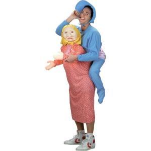 ハロウィン コスプレ おもしろコスチューム 大人 男性 お母さんに抱かれたいつまでも子供でいたい赤ちゃんの衣装セット|acomes