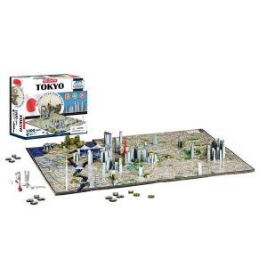 知育玩具 パズル 子供 おもちゃ 地図 歴史 立体パズル 4Dパズル 日本 東京|acomes