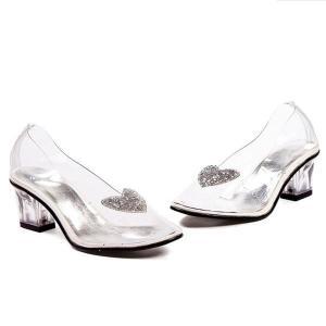 シンデレラ ガラスの靴  子供 シューズ コスプレ 仮装 グッズ|acomes