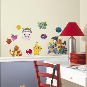 ポケモンGO ウォールステッカー 壁紙 壁用 デカール シール ポケットモンスター|acomes