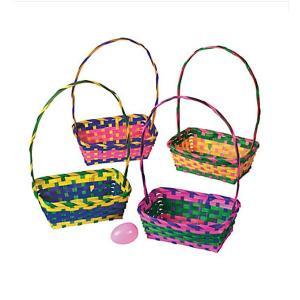 イースター エッグ ラージ バスケット12個セット エッグハント グッズ マルチカラー 復活祭 acomes