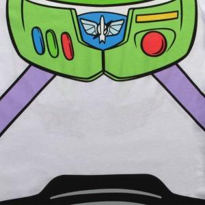 バズ・ライトイヤー コスチューム コスプレ トイストーリー Tシャツ 大人 女性 ディズニー 仮装 衣装|acomes|03