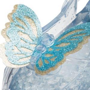 ハロウィン シンデレラ 靴 映画 子供用 光る グリッター シューズ ガラスの靴 小道具 コスプレ 仮装 ディズニー プリンセス|acomes|02