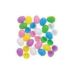 イースターエッグ プラスチック 卵 パステル おもちゃ 144個セット たまごカプセル エッグハント|acomes