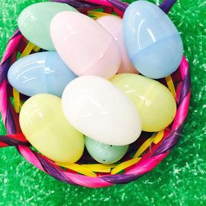 イースターエッグ プラスチック 卵 パステル おもちゃ 144個セット たまごカプセル エッグハント あすつく|acomes|03