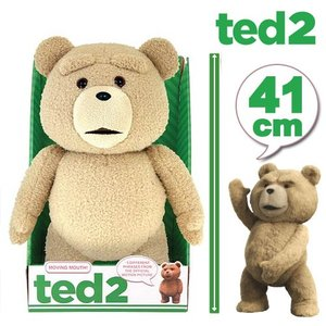 TED ぬいぐるみ テッド しゃべる 話す グッズ TED2 41cm(16inch) R指定版 テディベア 動物 くま クマ 人形 映画 キャラクター おもちゃ acomes