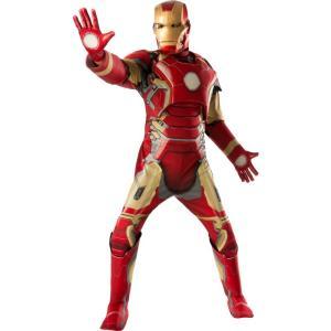 アイアンマン スーツ アベンジャーズ 2 エイジ・オブ・ウルトロン ・マーク43 大人用 DX コスチューム ハロウィン|acomes