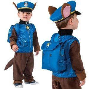 コスプレ 子供 衣装 男の子 人気 パウパトロール チェイス 用 コスチューム ハロウィン パーティー Chase チェース|acomes