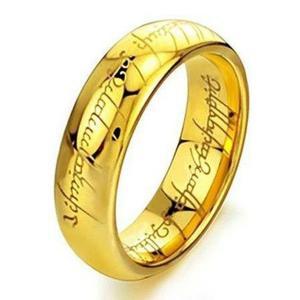 映画 ロード・オブ・ザ・リング 指輪 物語 コレクターズ アイテム 超硬合金 製 ギフト プレゼント