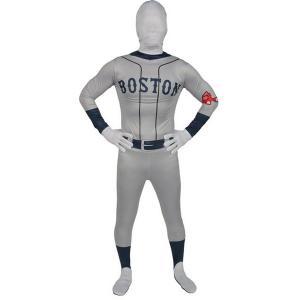 ボストン・レッドソックス 全身タイツ コスチューム コスプレ ハロウィン 衣装 大人 野球 アメリカ MLB メジャーリーグ 大リーグ|acomes