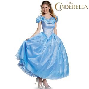 シンデレラ エラ 舞踏会 ブルー ドレス 大人用 大きい サイズ ハロウィン コスプレ|acomes