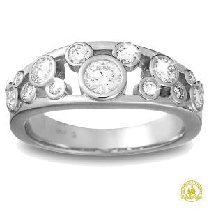 ミッキーマウス 結婚指輪 ダイアモンド エンゲージ リング 婚約指輪 プラチナ ディズニー acomes