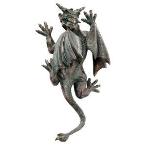 ハロウィンデコレーション 守護神 魔除け 壁掛け用ガーゴイル 彫像 置物 ガーデン インテリア 装飾 飾り グッズ acomes 02