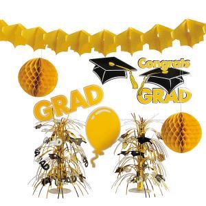 卒業 パーティー デコレーション キット 飾り 卒業式 お祝い 華やか カラフル|acomes
